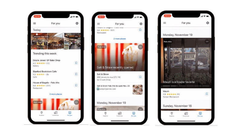 Google Maps 'For You' Tab Gets Wider Rollout, Google App for iOS Gets Lens Support
