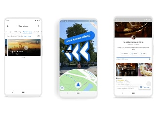 Google Maps Gets New Reservation Tab, Updated Timeline Feature; Live View Rolling Out in Beta
