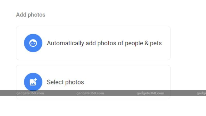 Google Photos Live Albums Feature Has a Limit of 10,000 Images