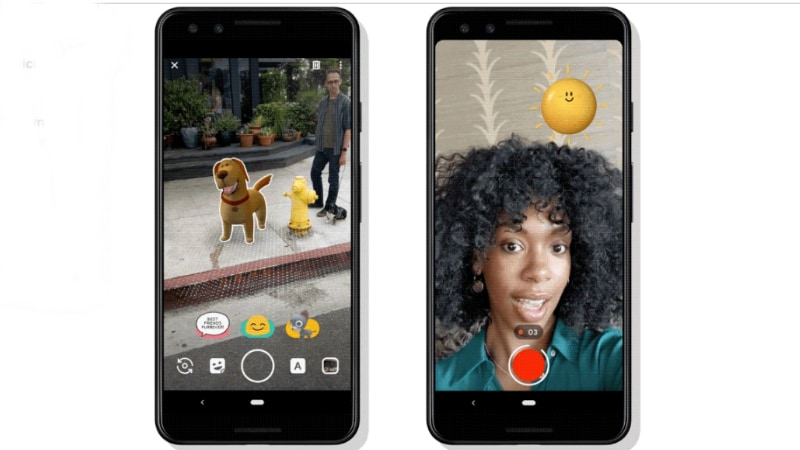 Pixel 3, 3 XL Camera Brings Playground Mode, Google Lens Improvements