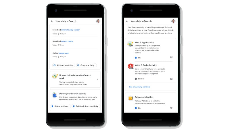 Google Search Gets Quick Access Controls for Privacy, Ads Settings, Activity Controls