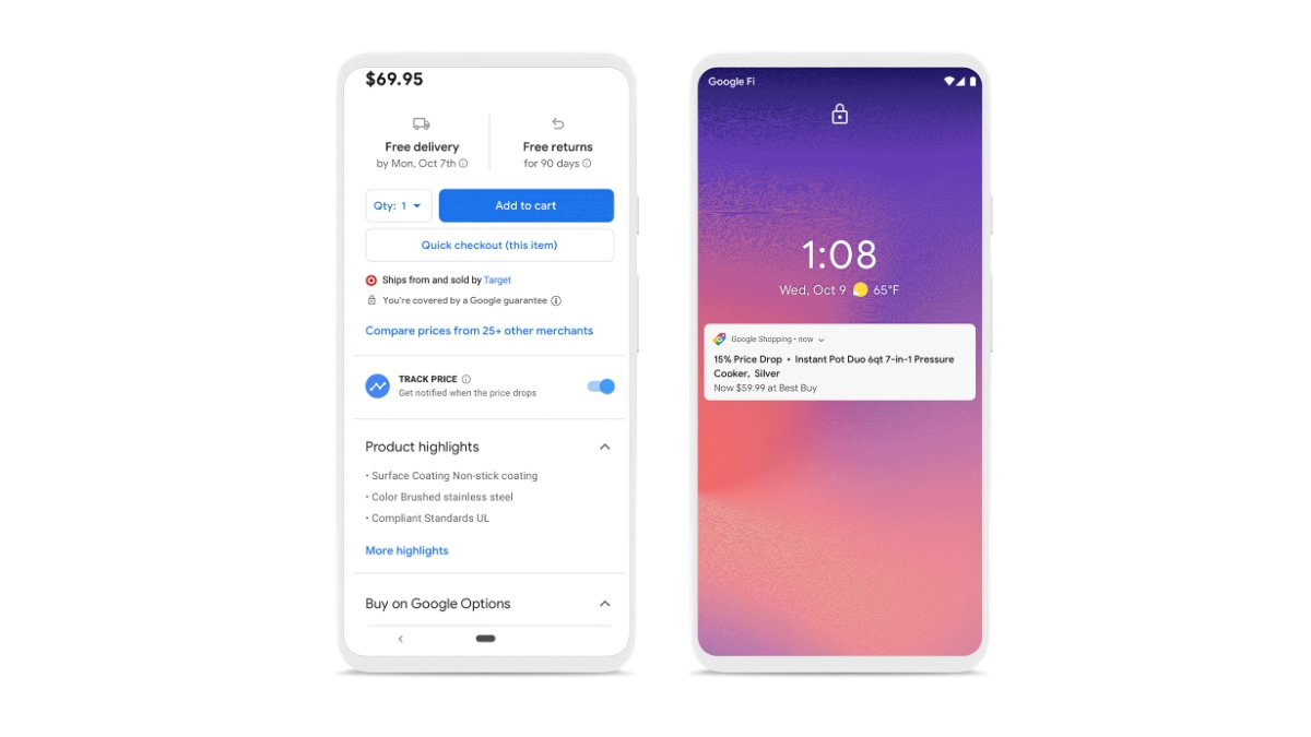 Google Shopping Upgrade Brings Redesigned Interface, New Price Tracking Feature, Customer Care Support