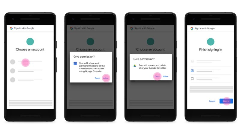 Google Rolls Out Granular Controls for Third-Party App Permissions, Limits SMS and Call Data Sharing