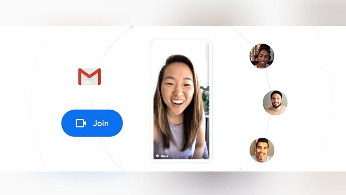 Google Meet gets its own tab in your phone's Gmail