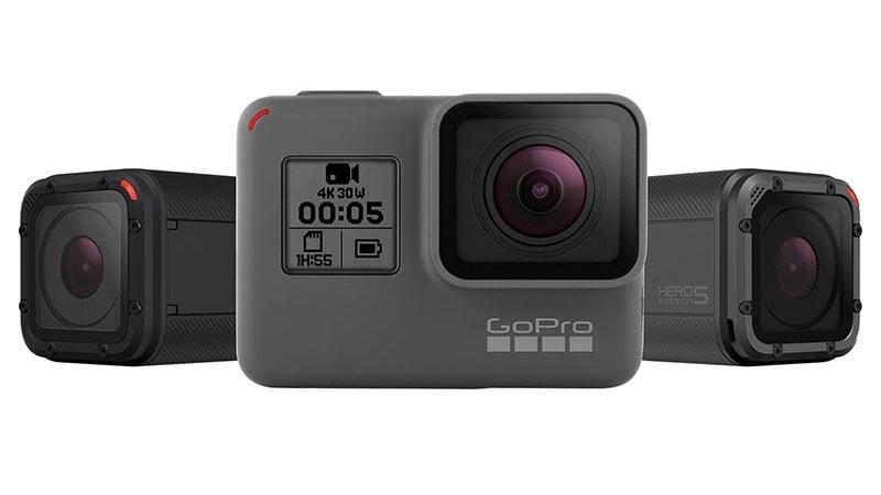 GoPro Halts Sale of Hero5 Camera on Amazon