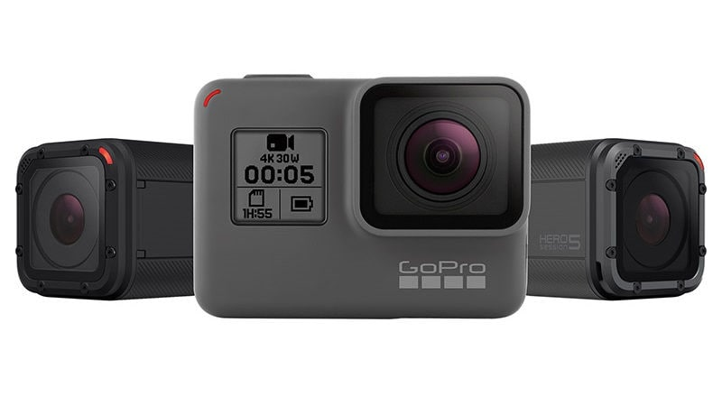 GoPro Hero5 Black, Hero5 Session Action Cameras Launched in India