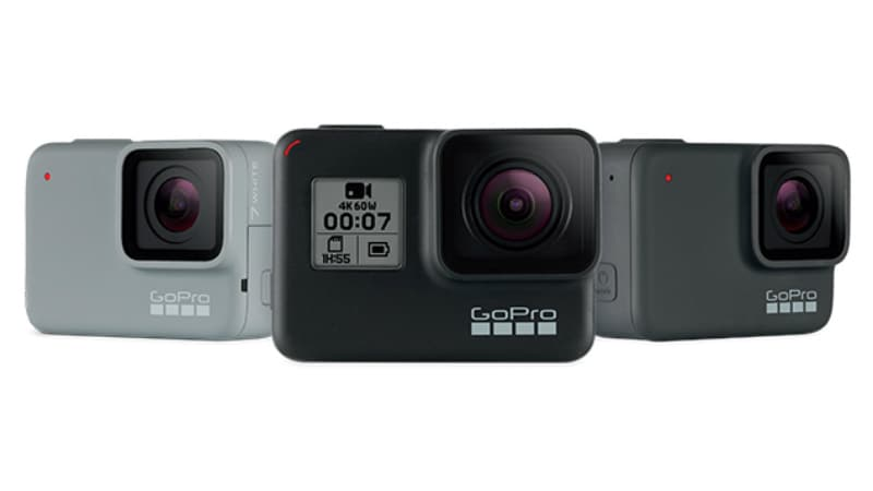 GoPro Unveils the HERO7 Black, Silver, and White Action Cameras