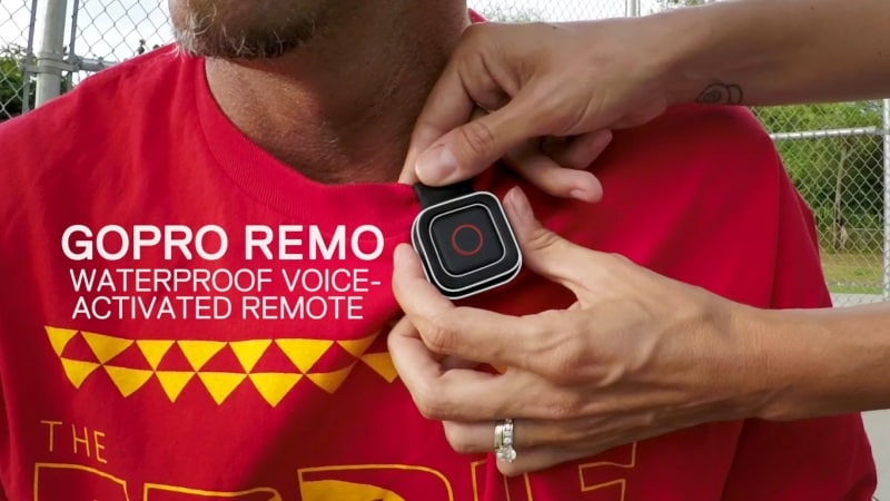 GoPro Remo Is a Voice-Activated Remote for Its Hero5 Black and Hero5 Session Cameras