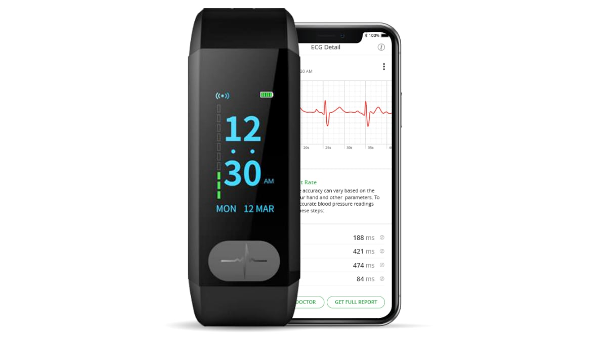 Goqii Vital ECG Smart Band Claims to Detect Serious Heart Conditions, Launched in India via Amazon