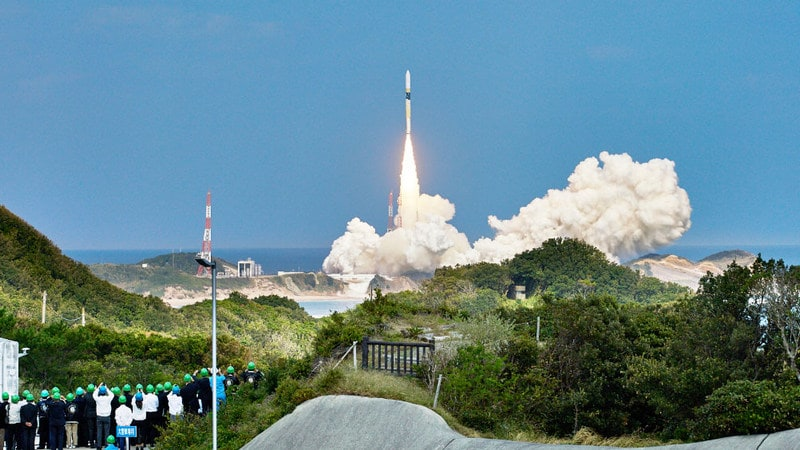 Japan Launches Environment Monitoring Satellite