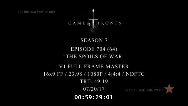 got s07e04 Game of Thrones