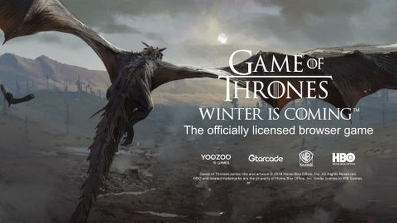 Game of Thrones Winter Is Coming Browser Game Out Now