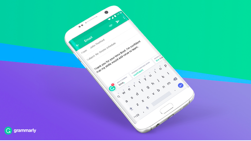 Grammarly Keyboard App With Grammar Checker Now Available