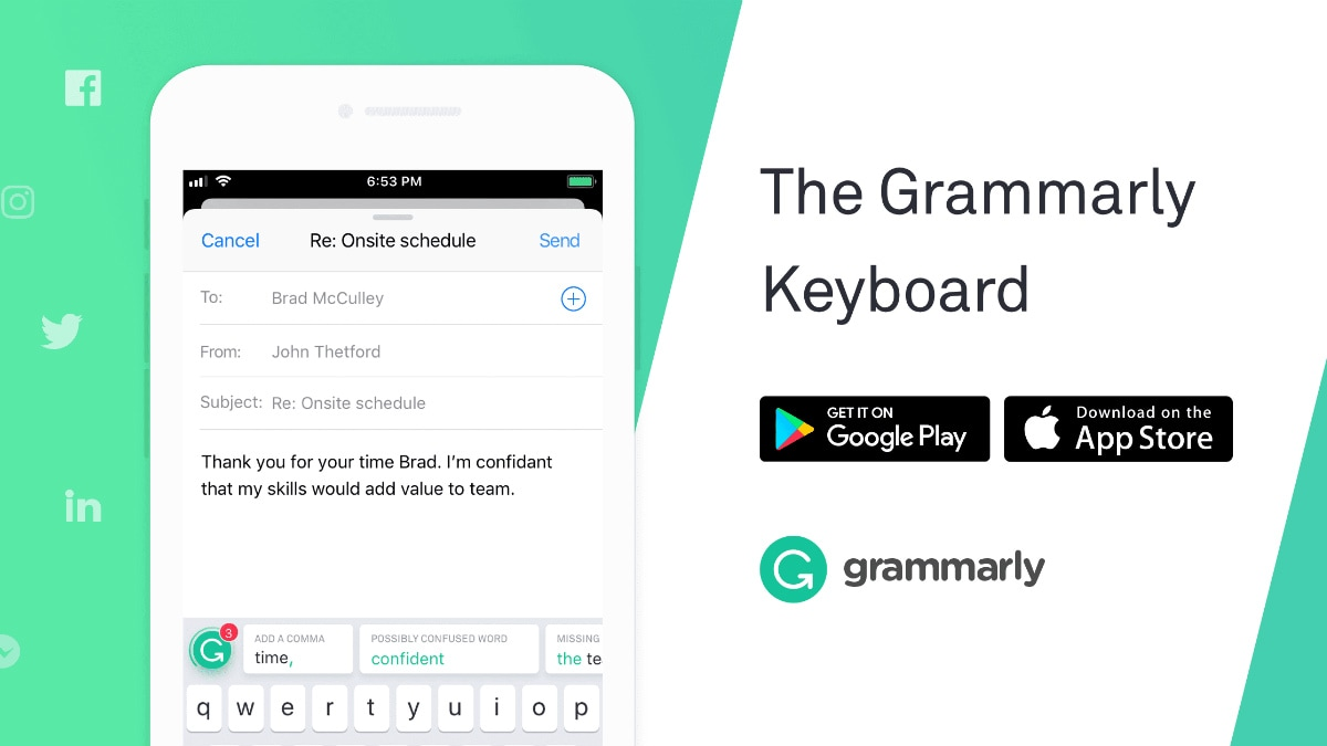 Grammarly Keyboard Gets Synonym Suggestions With Update on Android and iOS