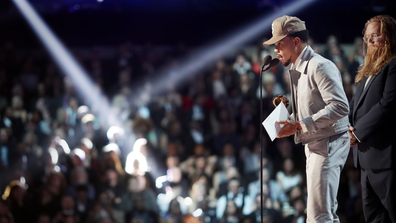The coloring book grammy - Grammys 2017 Chance The Rapper Wins For His Streaming Only Album Coloring Book