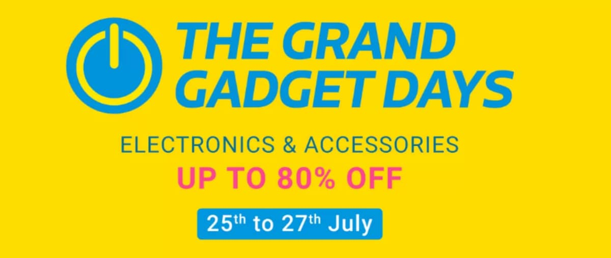 Flipkart Grand Gadget Sale Begins: Laptops Starting From Rs. 14,990, Tablets From Rs. 4,299, and More Deals