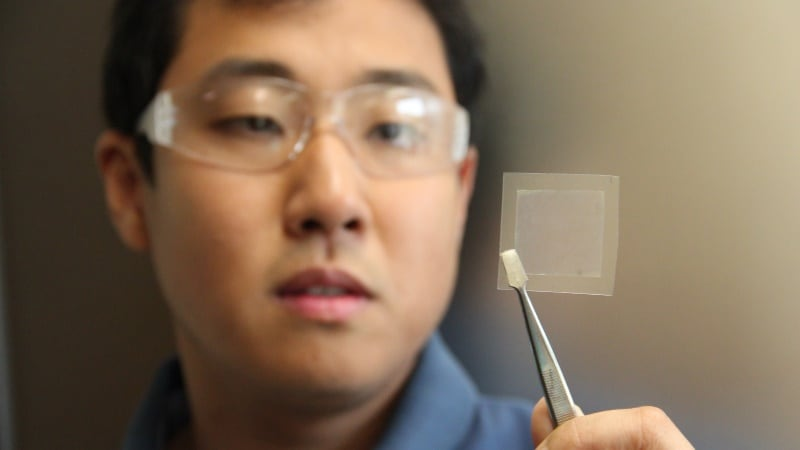 High-Quality Graphene Created Using Soybean