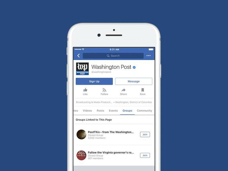 Facebook Groups for Pages Launched, Provides a Channel for Discussion