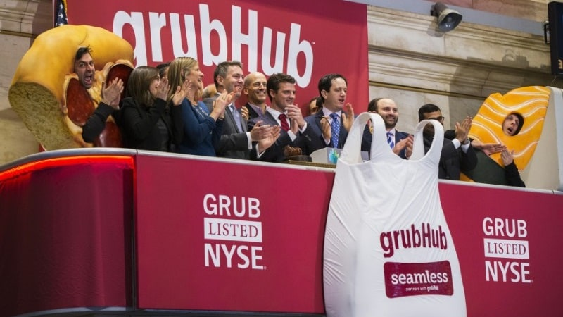 GrubHub Still Hungry for Deals to Stave Off Amazon, Uber