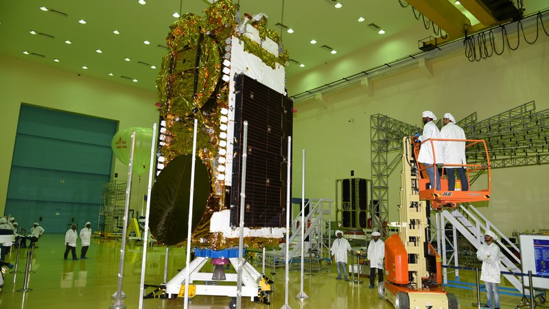 Image result for GSAT-11: India's heaviest communication satellite launched successfully from French Guiana
