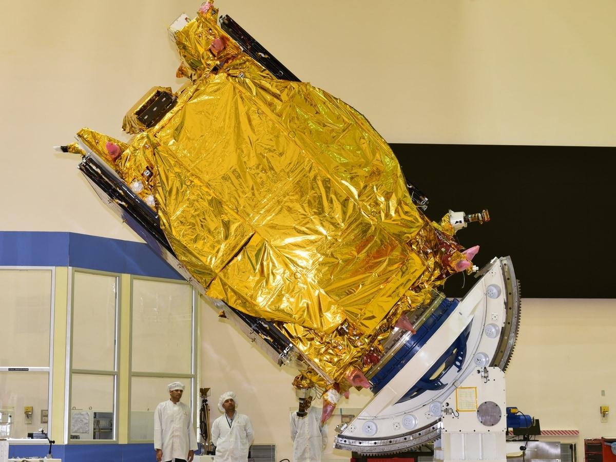 ISRO Successfully Completes Three Orbit Raising Manoeuvres of GSAT-30