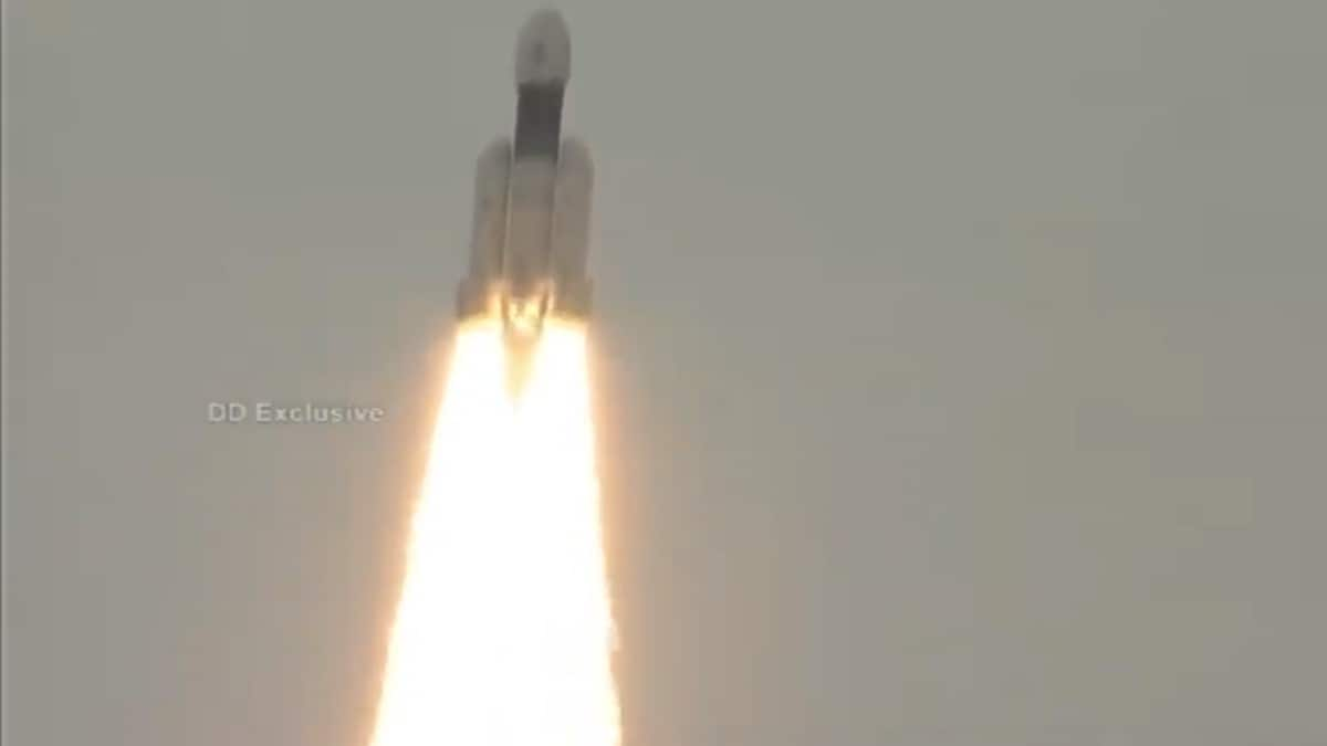 Chandrayaan-2 Successfully Launched Aboard GSLV-Mk III Rocket: ISRO