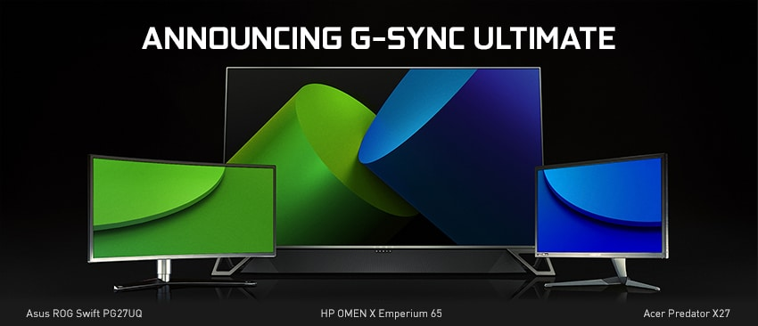 Nvidia Brings G-Sync Support to a Dozen AMD FreeSync Monitors, Rebrands G-Sync HDR at CES 2019