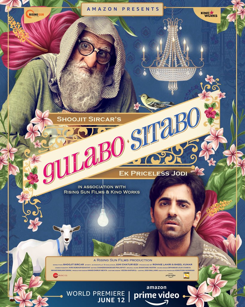 gulabo sitabo poster Gulabo Sitabo poster