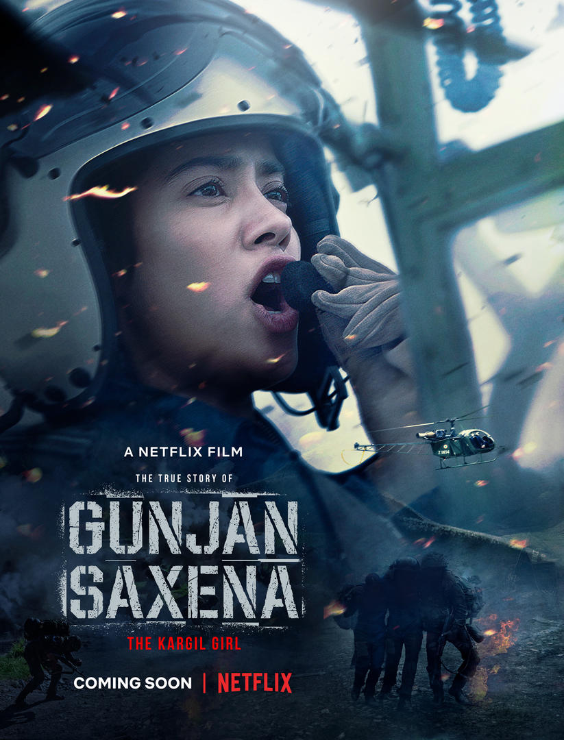 Gunjan Saxena The Kargil Girl To Release Directly On Netflix Entertainment News