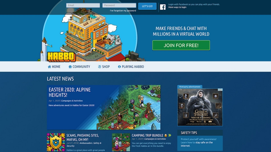 Gamers Check Back in to Habbo Hotel as Coronavirus Refuge