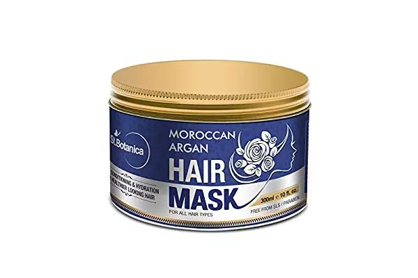 best products for dry hair in india StBotanica Moroccan Argan Hair Mask