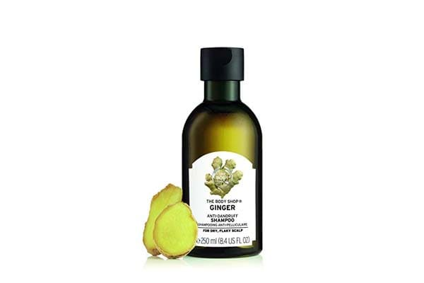 best products for dry hair in india the Body Shop Ginger Scalp Care, Paraben-Free Shampoo