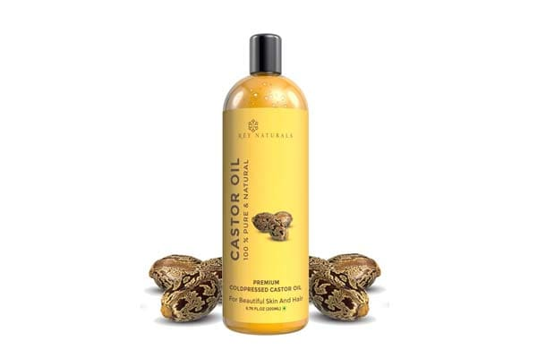 best products for dry hair in india Rey Naturals Pressed Castor Oil