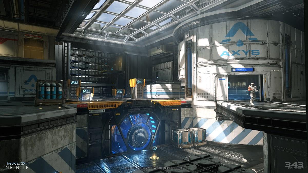 Carte multijoueur Halo Infinite 2 Carte multijoueur Halo Infinite
