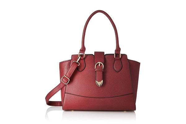 best handbags for women in india satyapaul Women's Satchel (Marsala)