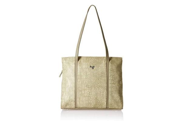 best handbags for women in india Baggit Women's Satchel (Beige)