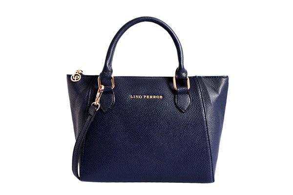 best handbags for women in india Lino Perros Women's Satchel (Navy)