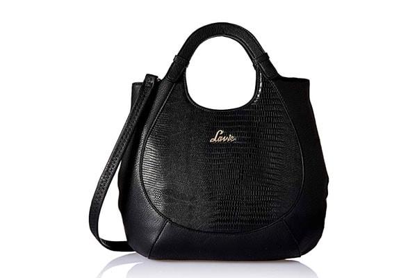 best handbags for women in india Lavie Kabuki Women's Satchel (Black)