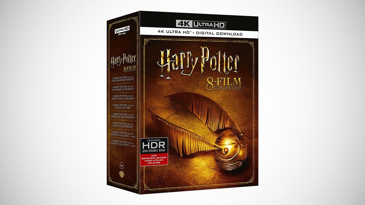 harry potter collection 4k hdr Harry Potter 4K HDR