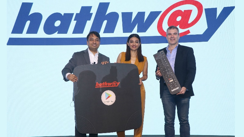 Hathway Play Box, Ultra Smart Hub Android-Based OTT Set-Top