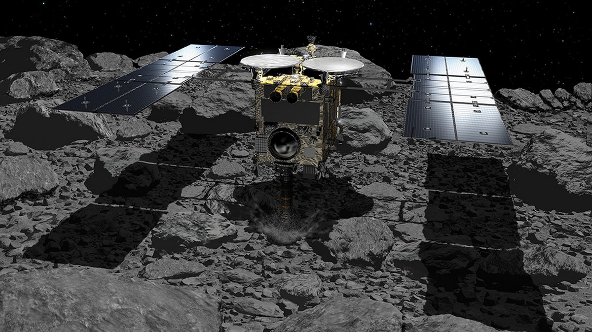 Japan's Asteroid Probe Hayabusa2 Set for Final Touchdown