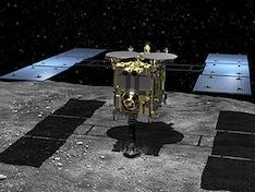 Japan Probe Hayabusa2 Lands on Distant Asteroid Ryugu