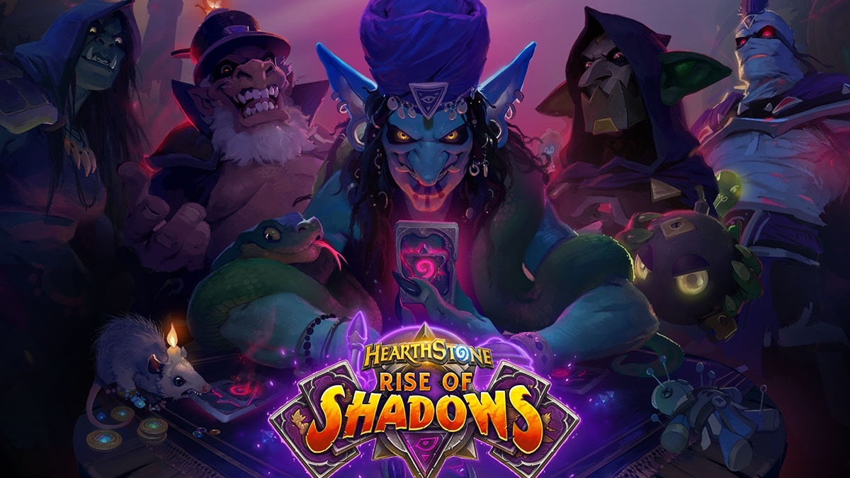 hearthstone rise of shadows wallpaper Hearthstone