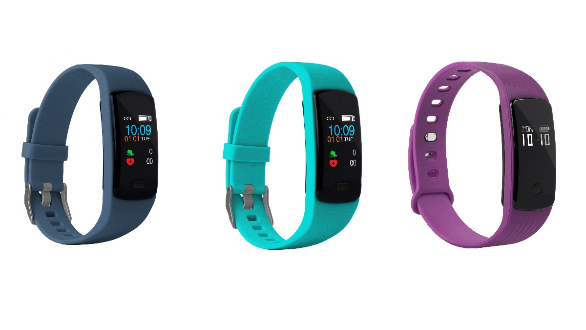 Helix Gusto, Helix Gusto HRM Fitness Bands With Up to 15 Days Battery Life Launched in India