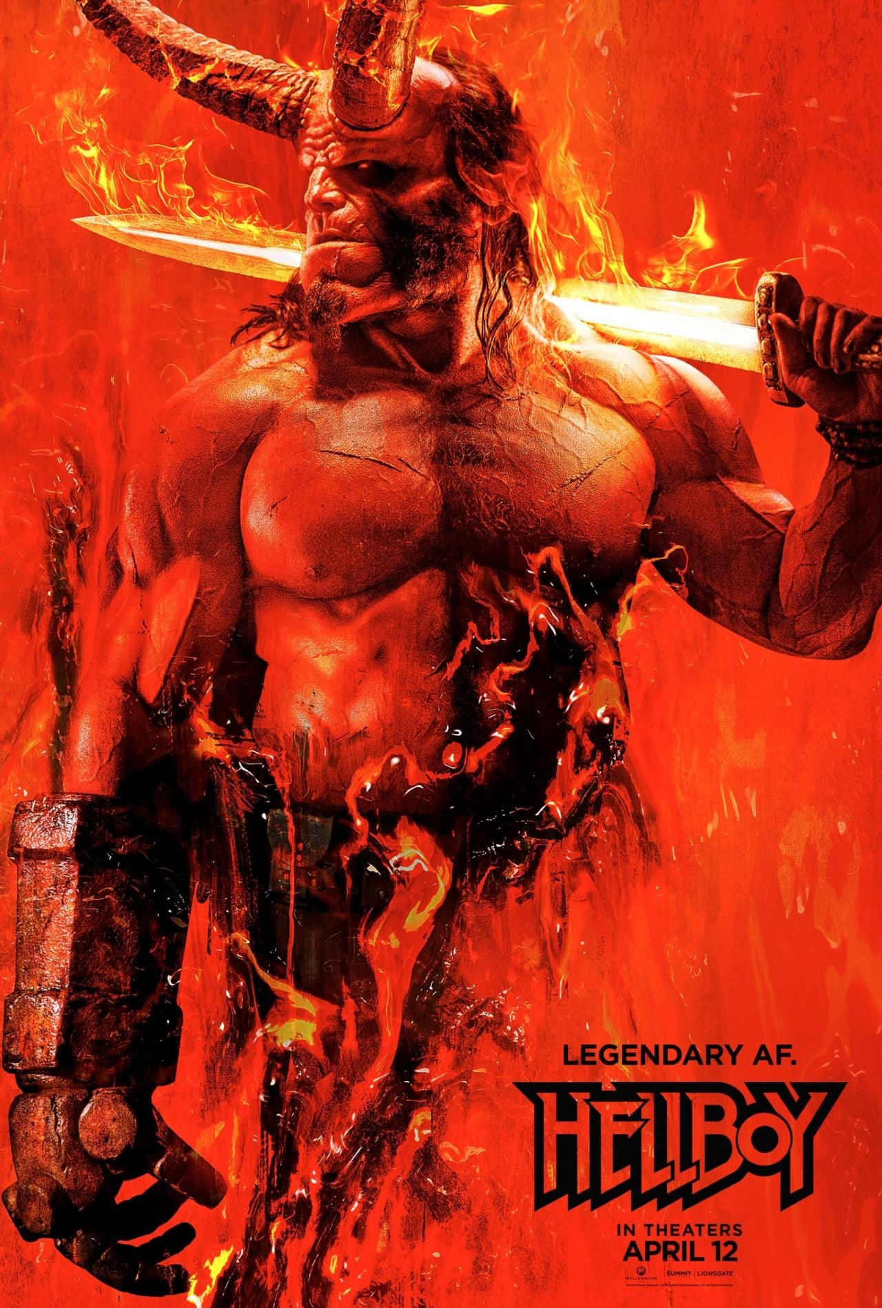 hellboy poster Hellboy poster