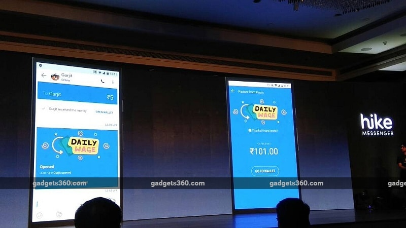 Now transfer money, recharge/pay mobile bills via Hike wallet