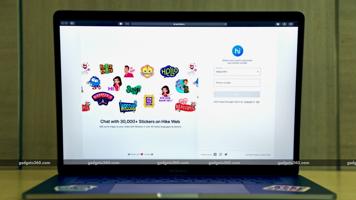 Hike Sticker Chat Brings Auto Backup Feature for Quick Data Transfer, Web Client Debuts Too