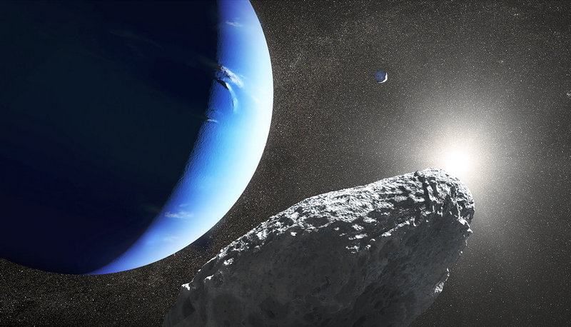 Tiny New Moon Discovered Around Neptune, Called Hippocamp