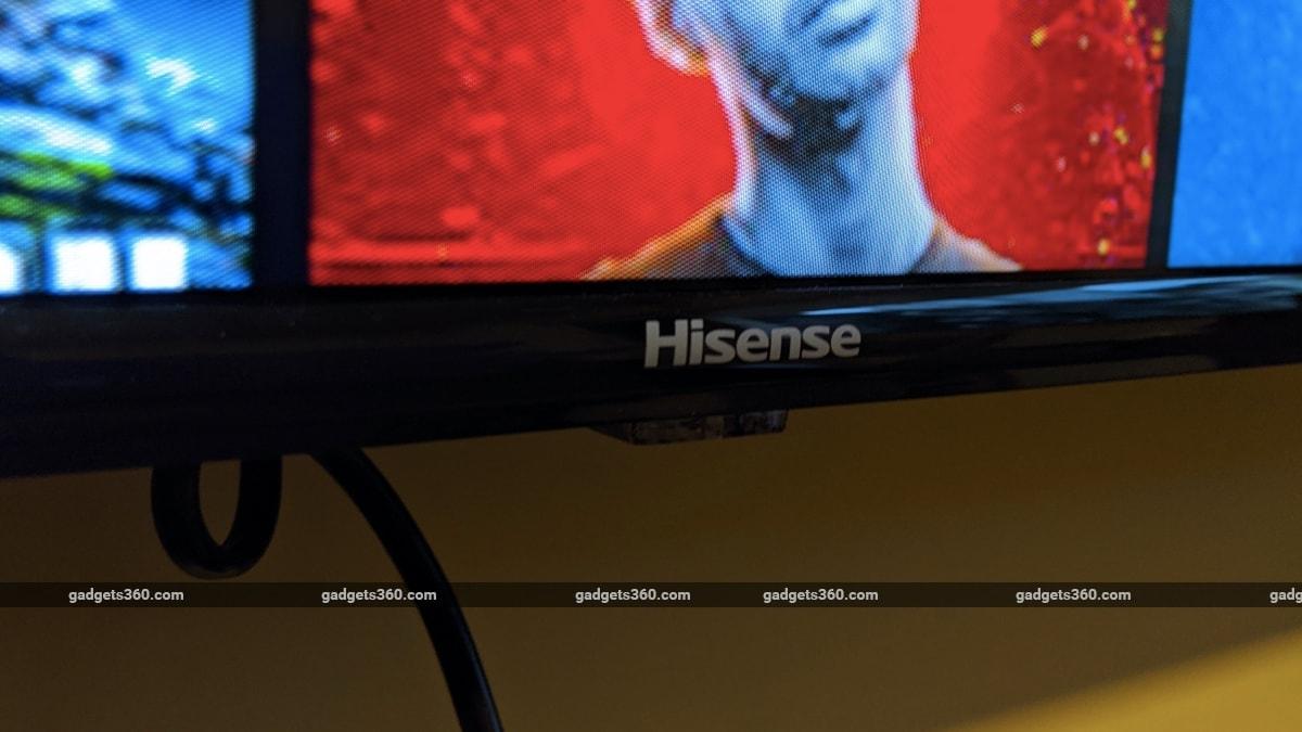 hisense 50a71f review logo Hisense