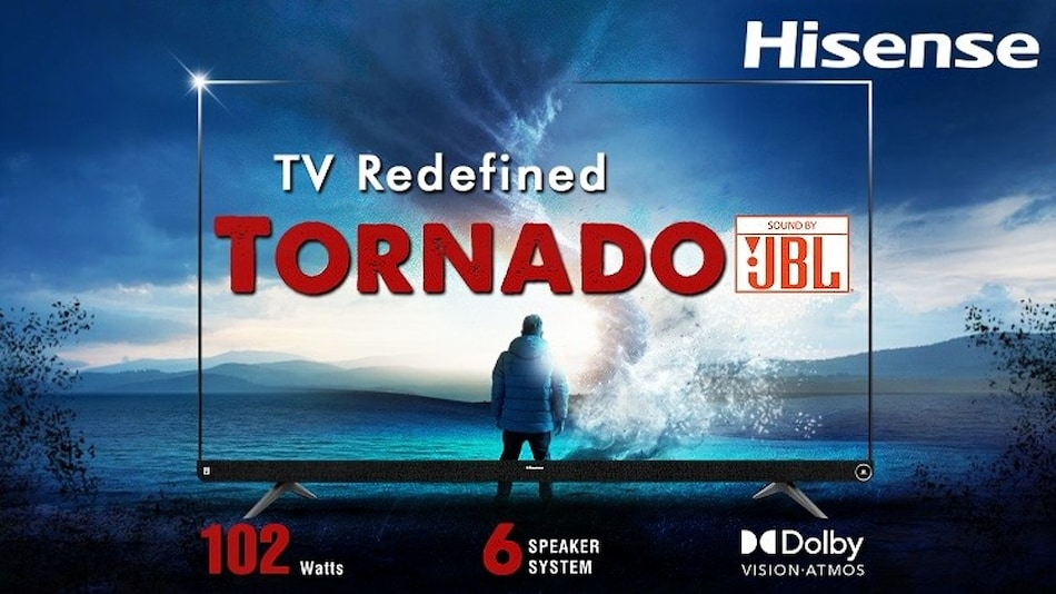 Hisense Tornado 4K 55-Inch TV Priced in India Revealed Ahead of December 24 Sale